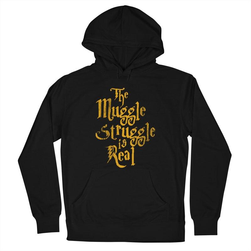 Muggle Struggle Men's Pullover Hoody by jerbing's Artist Shop
