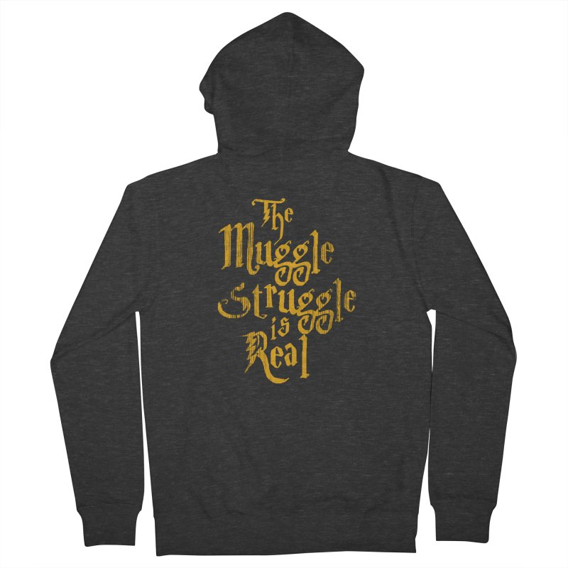 Muggle Struggle Women's Zip-Up Hoody by jerbing's Artist Shop
