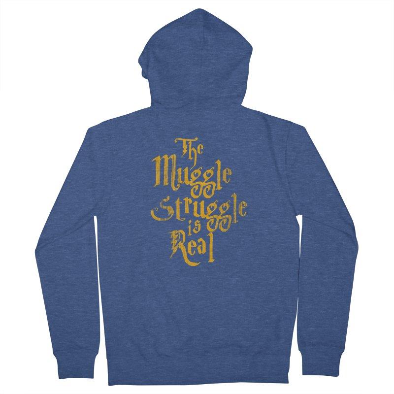 Muggle Struggle Women's Zip-Up Hoody by jerbing's Artist Shop