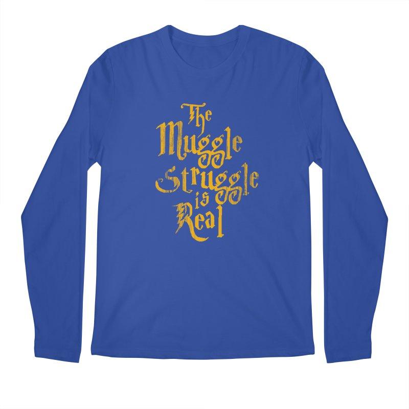 Muggle Struggle Men's Longsleeve T-Shirt by jerbing's Artist Shop