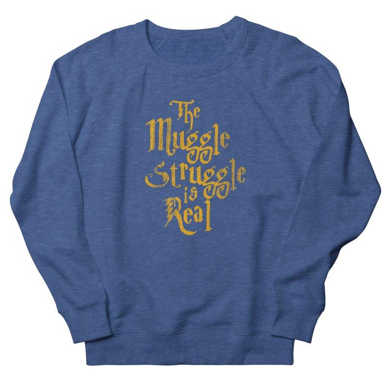 Muggle Struggle Men's Sweatshirt by jerbing's Artist Shop