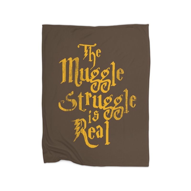 Muggle Struggle Home Blanket by jerbing's Artist Shop