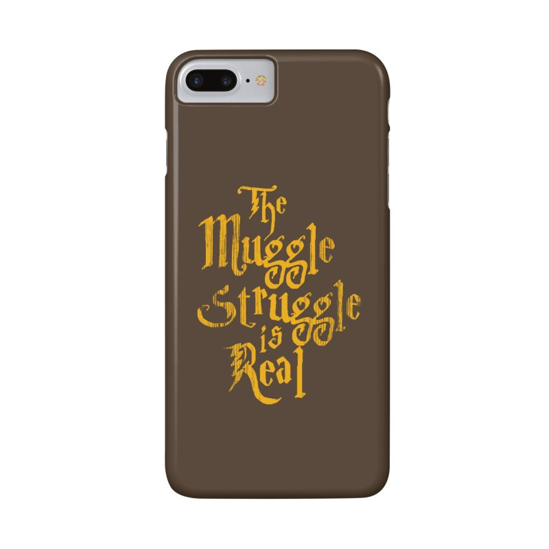 Muggle Struggle Accessories Phone Case by jerbing's Artist Shop