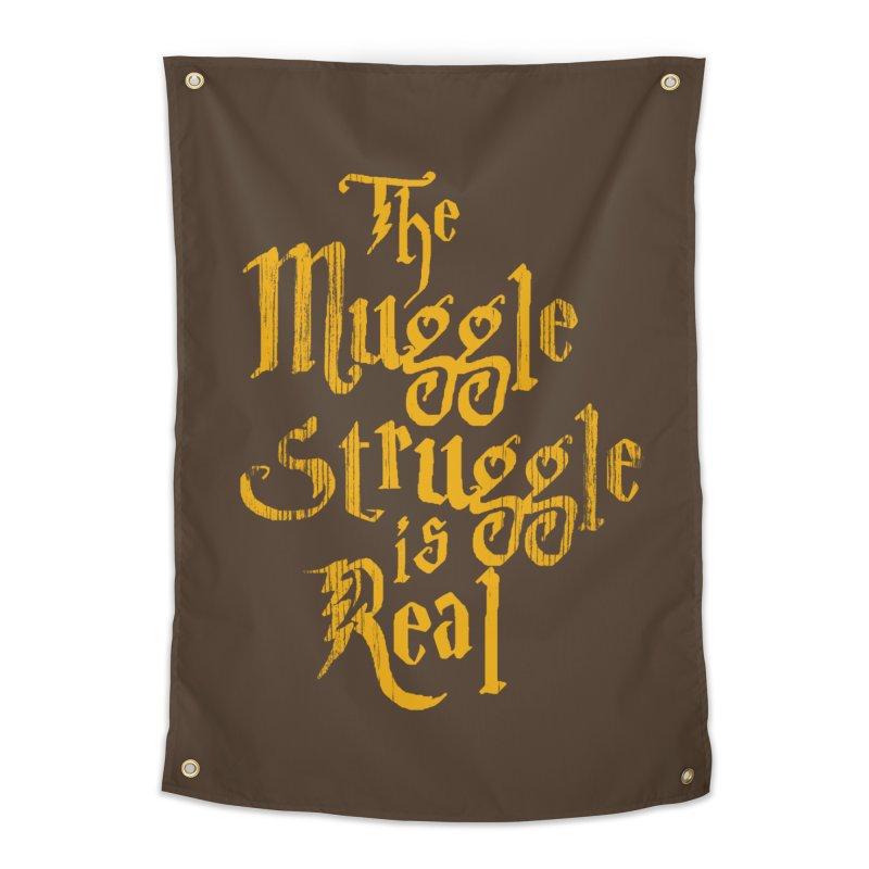 Muggle Struggle Home Tapestry by jerbing's Artist Shop