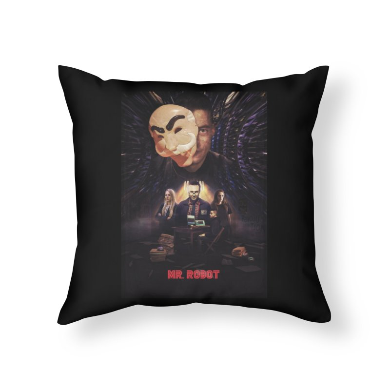 Control is an Illusion Home Throw Pillow by Jereek's Shop