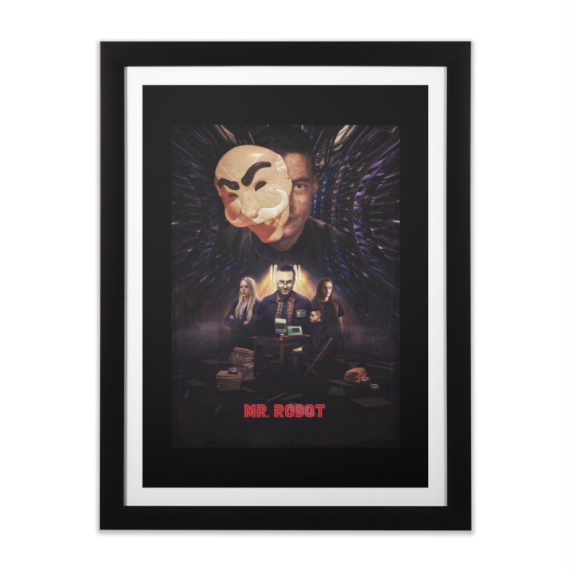 Control is an Illusion Home Framed Fine Art Print by Jereek's Shop