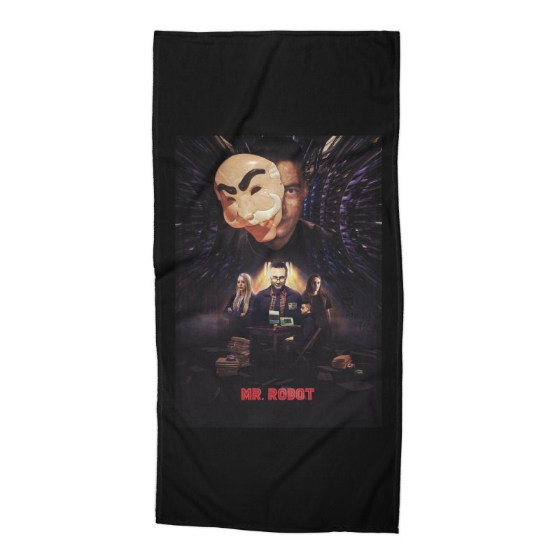 Control is an Illusion Accessories Beach Towel by Jereek's Shop