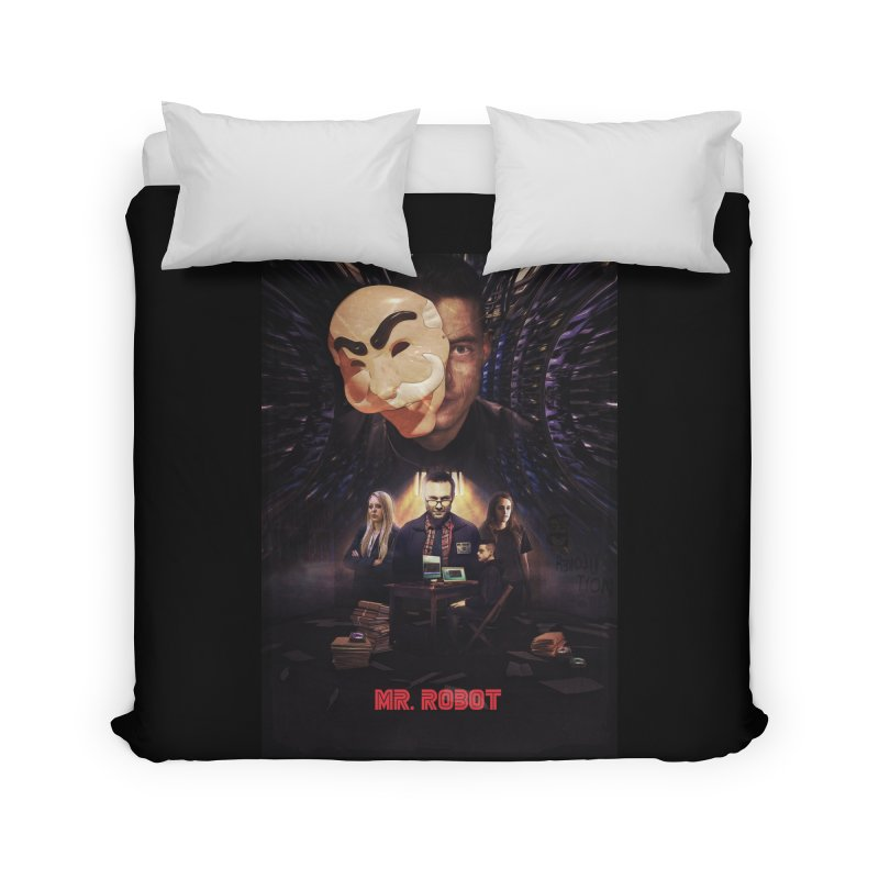 Control is an Illusion Home Duvet by Jereek's Shop