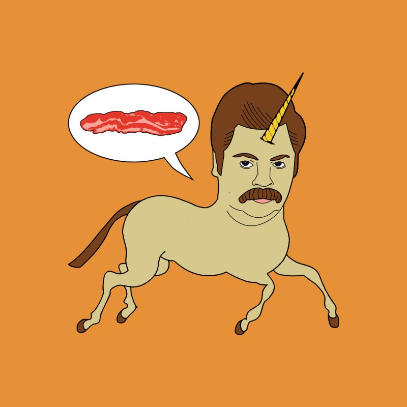 Let's Talk About Bacon None  by jeremyscheuch's Artist Shop