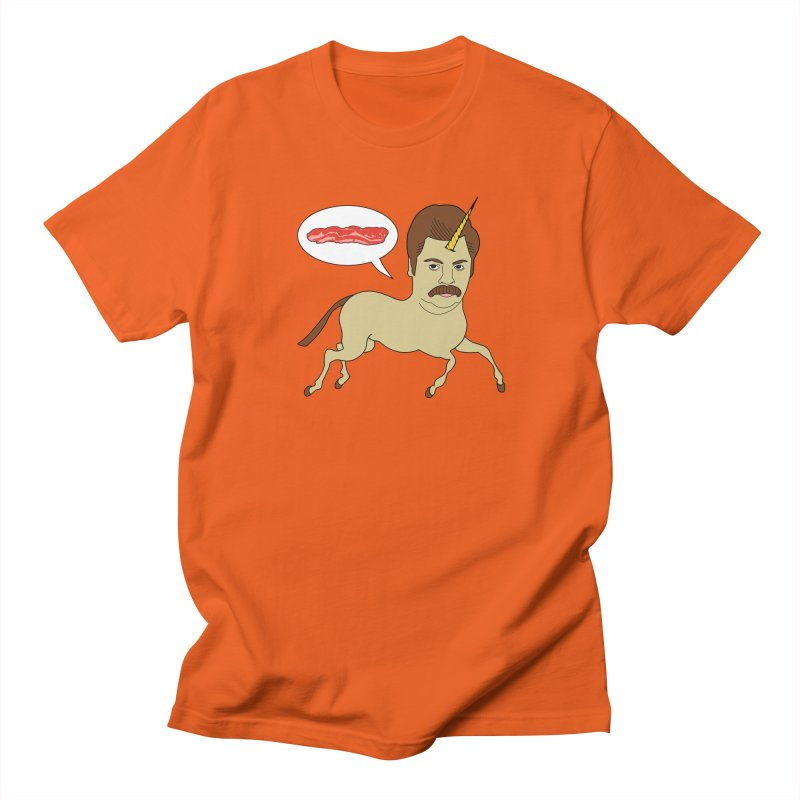 Let's Talk About Bacon Men's T-shirt by jeremyscheuch's Artist Shop