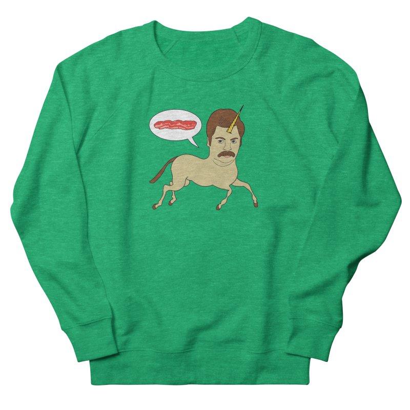 Let's Talk About Bacon Men's Sweatshirt by jeremyscheuch's Artist Shop
