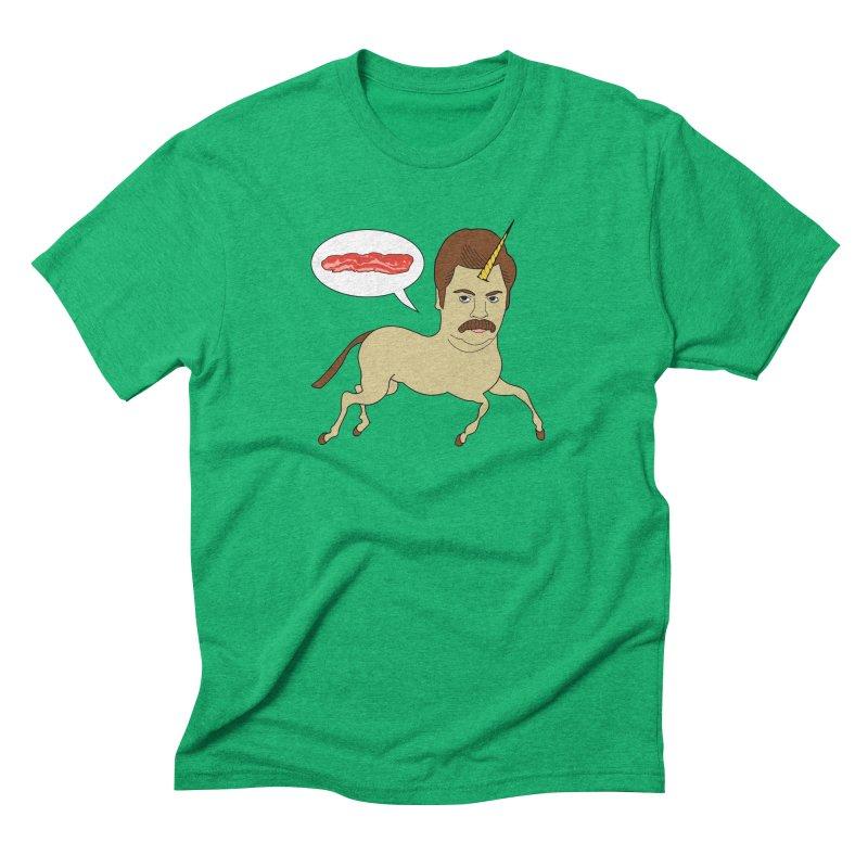 Let's Talk About Bacon Men's Triblend T-Shirt by jeremyscheuch's Artist Shop
