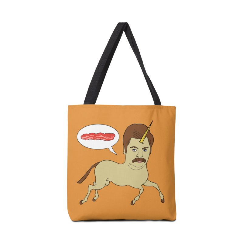 Let's Talk About Bacon Accessories Bag by jeremyscheuch's Artist Shop