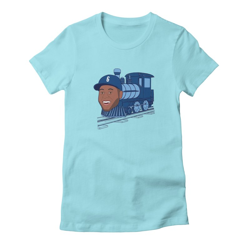 No. 6 Train to Kansas City Women's Fitted T-Shirt by jeremyscheuch's Artist Shop
