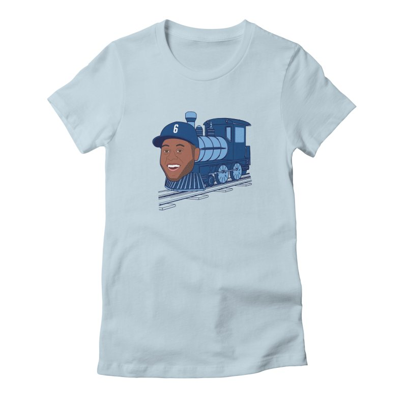 No. 6 Train to Kansas City Women's Fitted T-Shirt by jeremyscheuch's Artist Shop