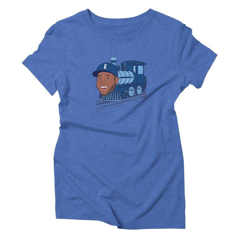 No. 6 Train to Kansas City Women's Triblend T-Shirt by jeremyscheuch's Artist Shop