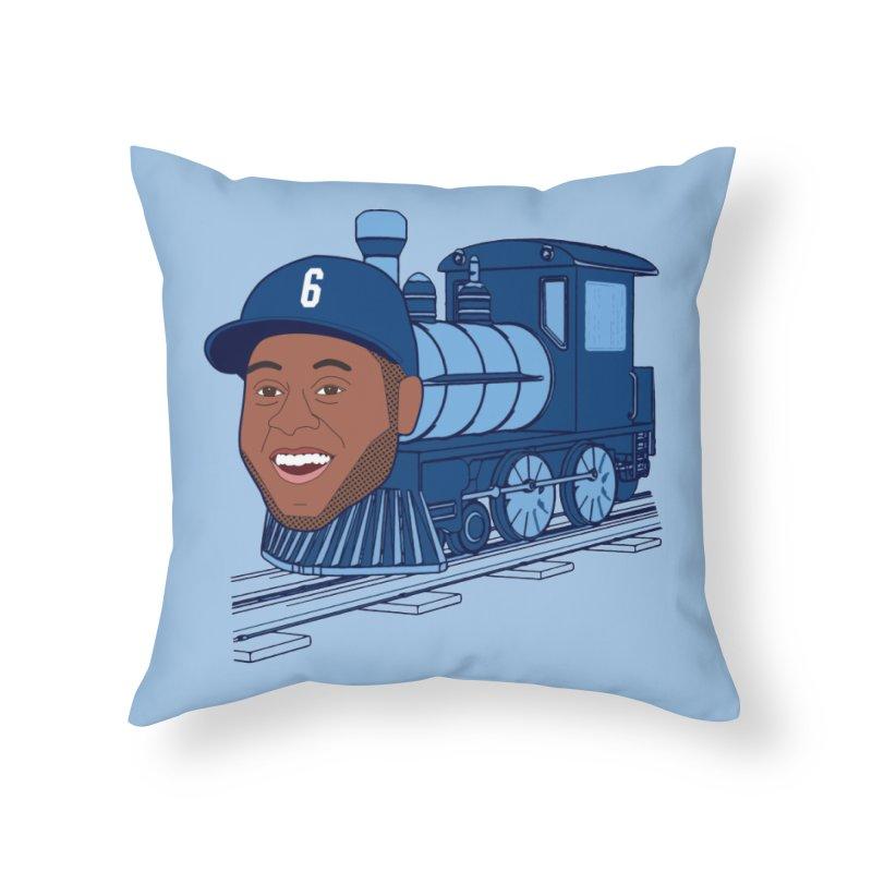 No. 6 Train to Kansas City Home Throw Pillow by jeremyscheuch's Artist Shop