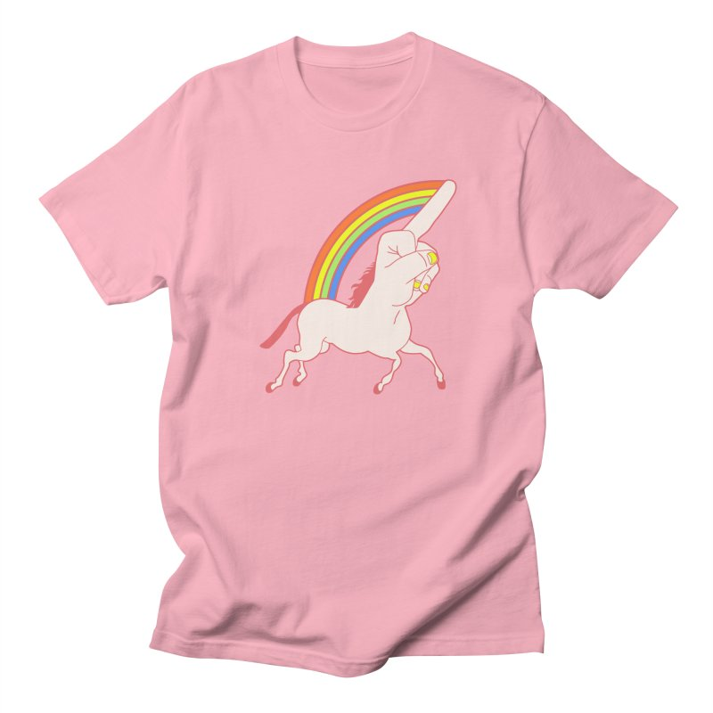F*CK YOUNICORN Men's T-shirt by jeremyscheuch's Artist Shop