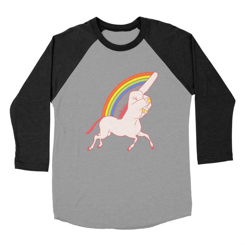 F*CK YOUNICORN Men's Baseball Triblend T-Shirt by jeremyscheuch's Artist Shop