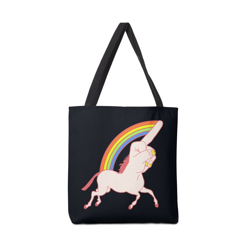 F*CK YOUNICORN Accessories Bag by jeremyscheuch's Artist Shop