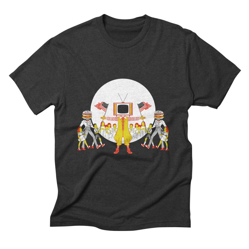 THE LAST SUPPER Men's Triblend T-Shirt by jeremyscheuch's Artist Shop