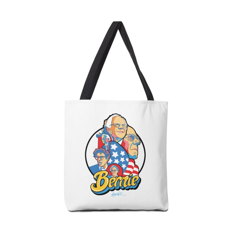 Bernie! Accessories Tote Bag Bag by Jeremy Wheeler