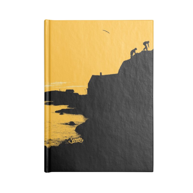Monhegan Island, Maine Accessories Notebook by Jeremy Wheeler