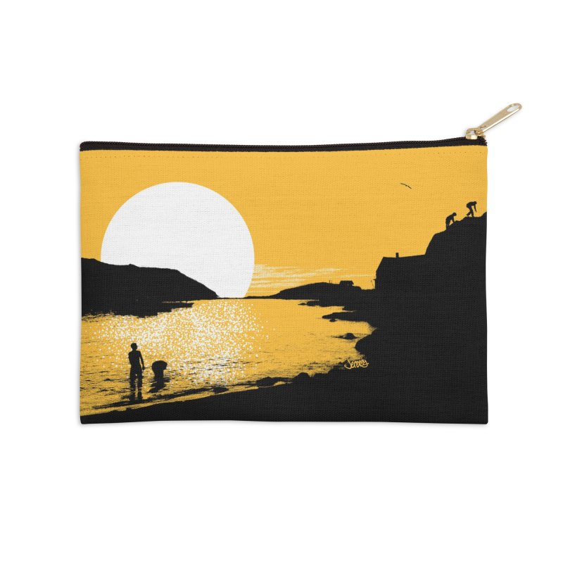 Monhegan Island, Maine Accessories Zip Pouch by Jeremy Wheeler