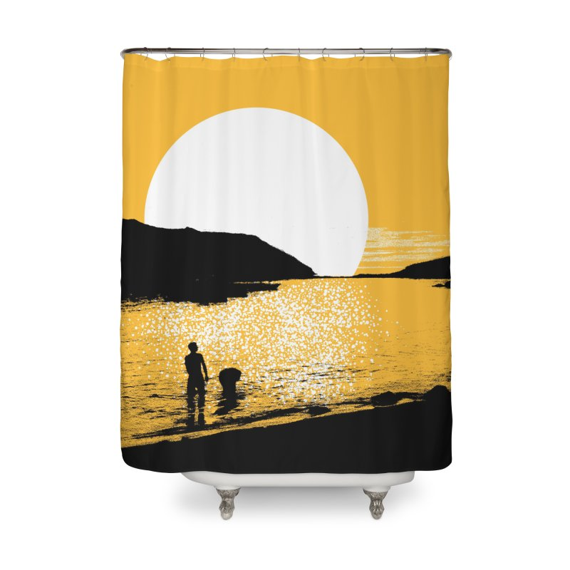 Monhegan Island, Maine Home Shower Curtain by Jeremy Wheeler