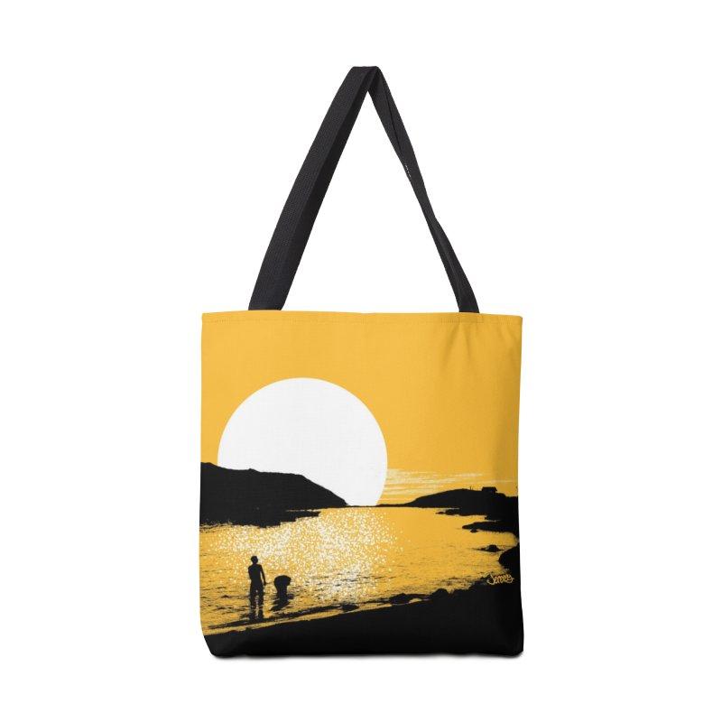 Monhegan Island, Maine Accessories Bag by Jeremy Wheeler