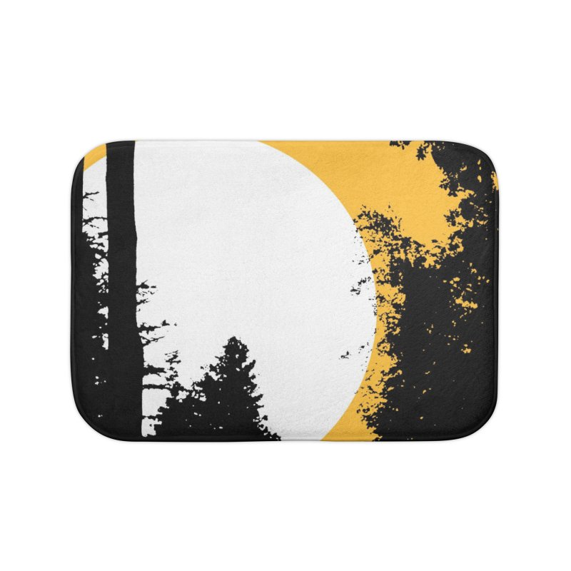 Mullett Lake, Michigan Home Bath Mat by Jeremy Wheeler