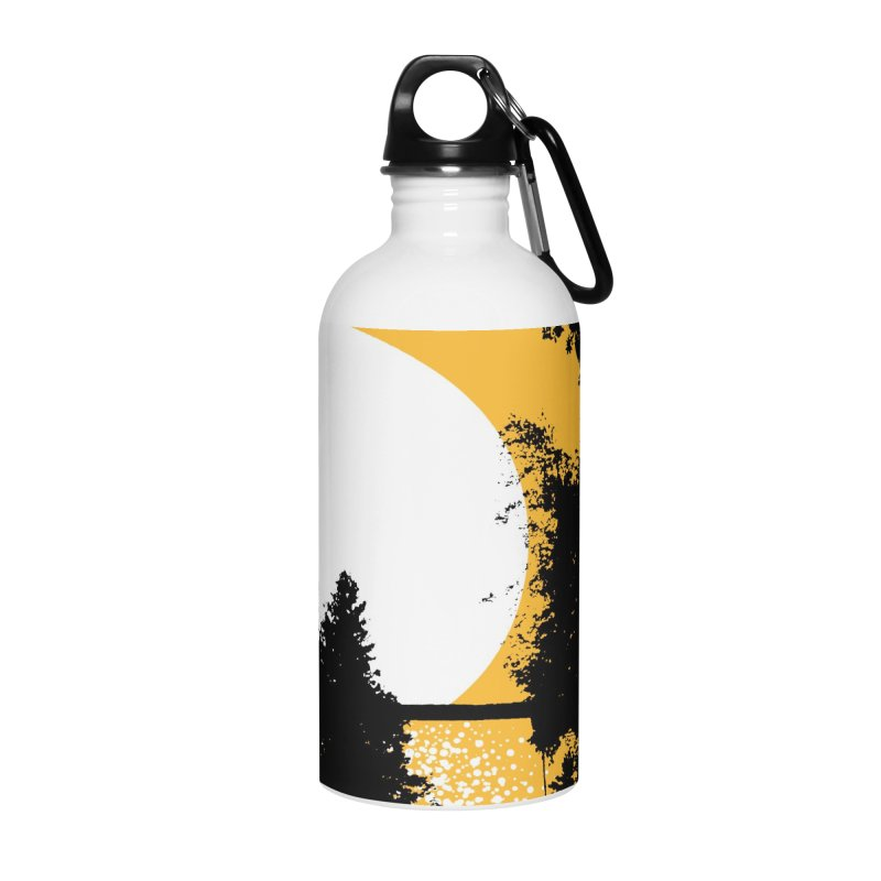 Mullett Lake, Michigan Accessories Water Bottle by Jeremy Wheeler