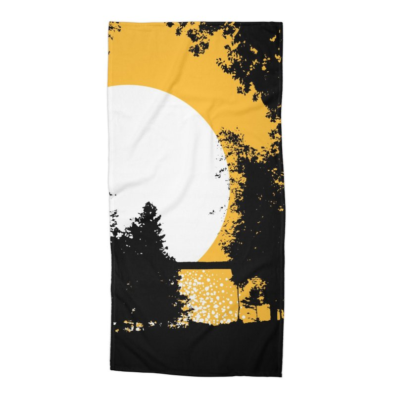 Mullett Lake, Michigan Accessories Beach Towel by Jeremy Wheeler