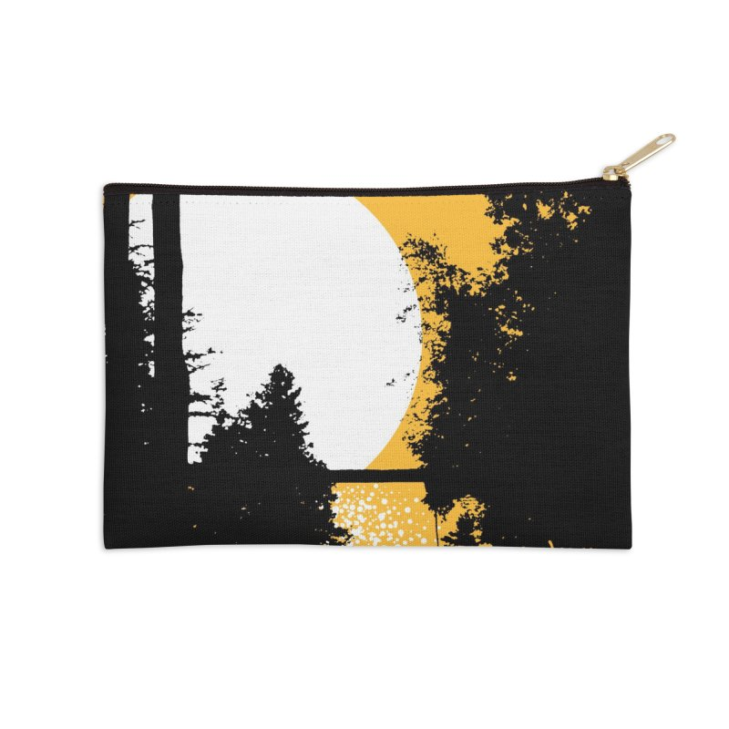 Mullett Lake, Michigan Accessories Zip Pouch by Jeremy Wheeler