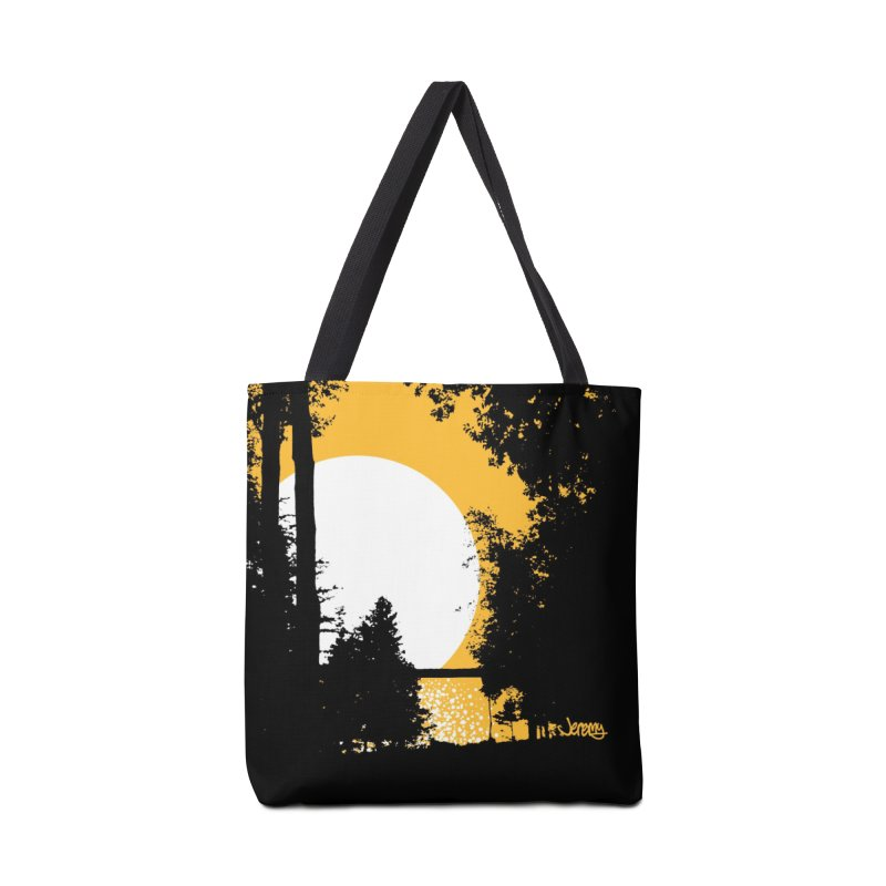 Mullett Lake, Michigan Accessories Bag by Jeremy Wheeler