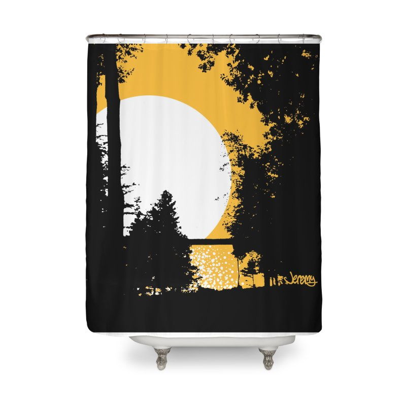 Mullett Lake, Michigan Home Shower Curtain by Jeremy Wheeler