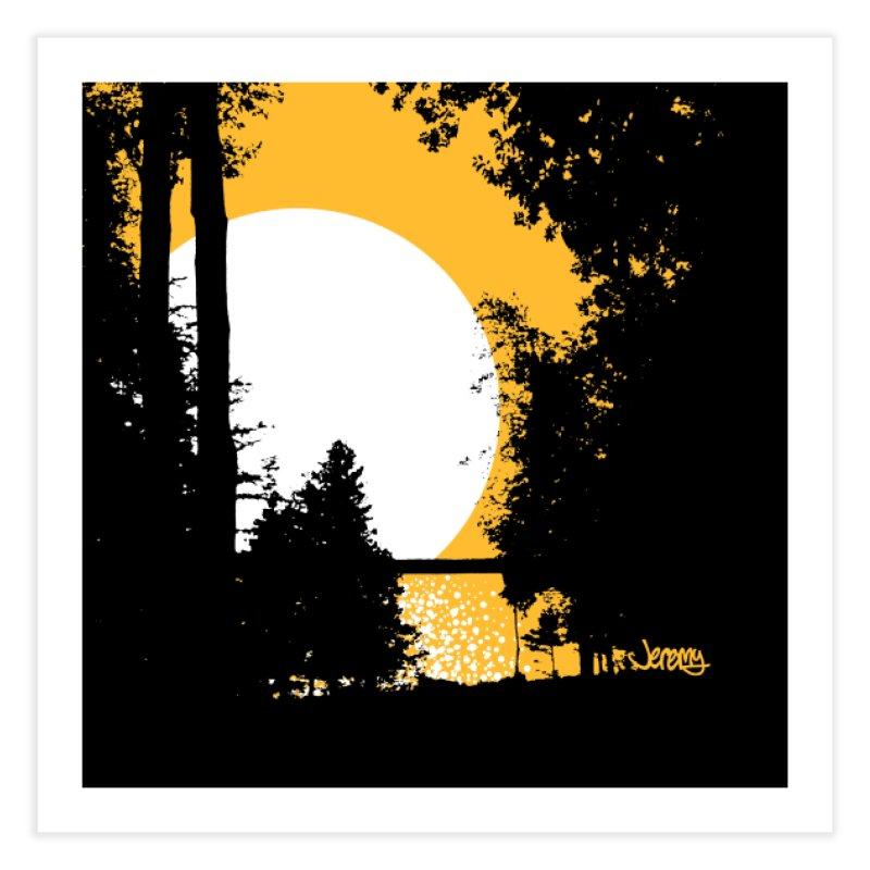 Mullett Lake, Michigan Home Fine Art Print by Jeremy Wheeler