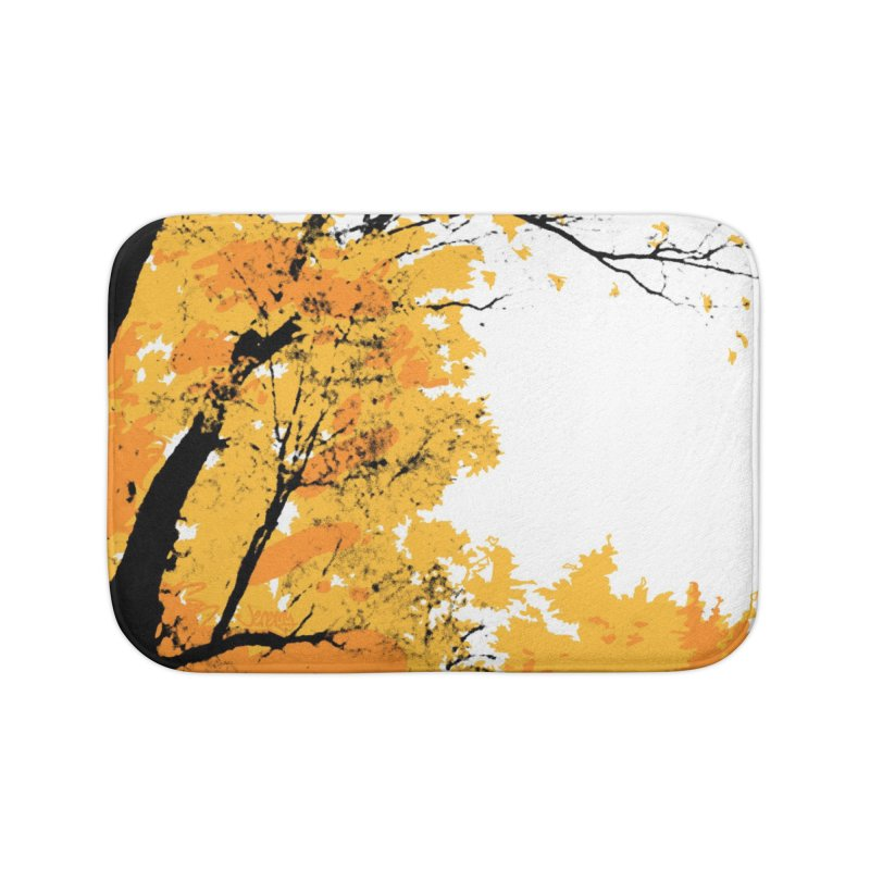 Michigan Fall Home Bath Mat by Jeremy Wheeler