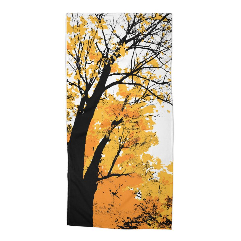 Michigan Fall Accessories Beach Towel by Jeremy Wheeler