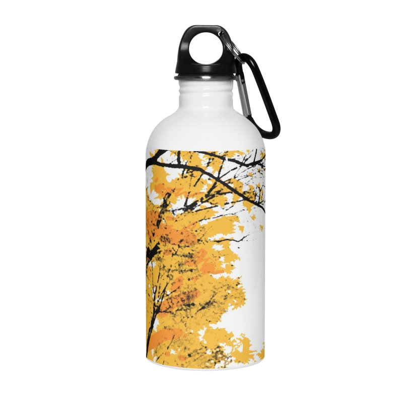 Michigan Fall Accessories Water Bottle by Jeremy Wheeler