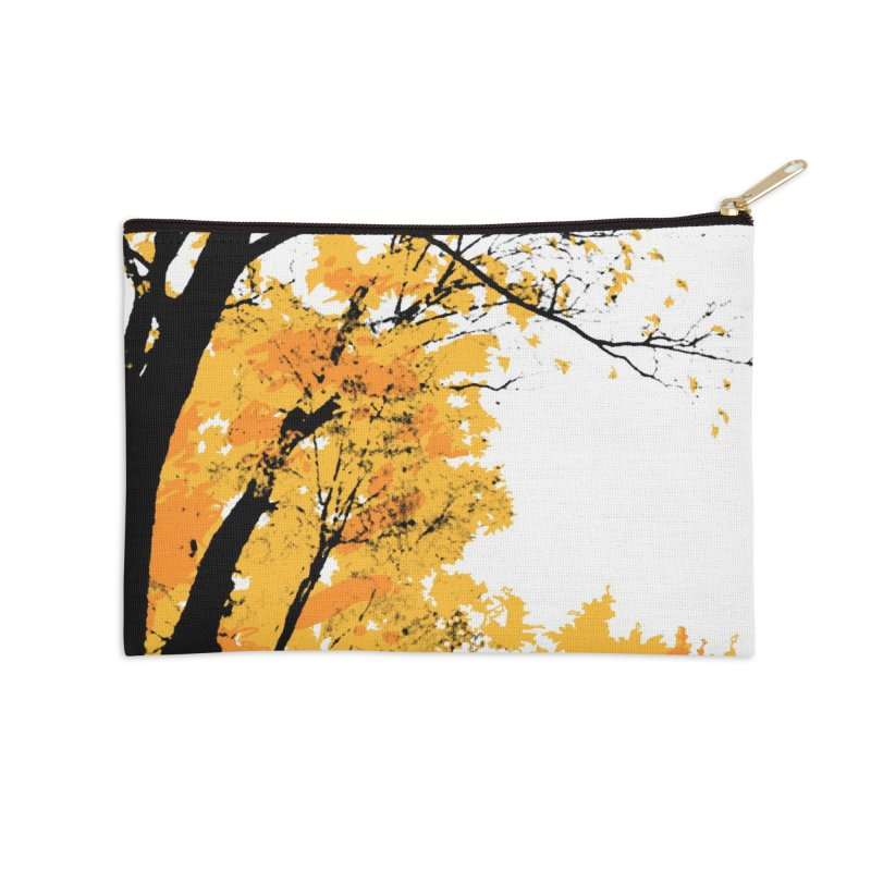 Michigan Fall Accessories Zip Pouch by Jeremy Wheeler