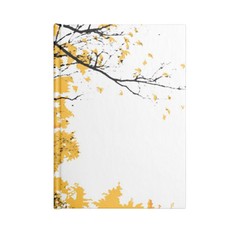 Michigan Fall Accessories Lined Journal Notebook by Jeremy Wheeler