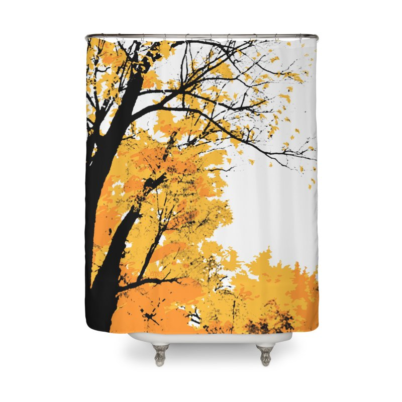 Michigan Fall Home Shower Curtain by Jeremy Wheeler