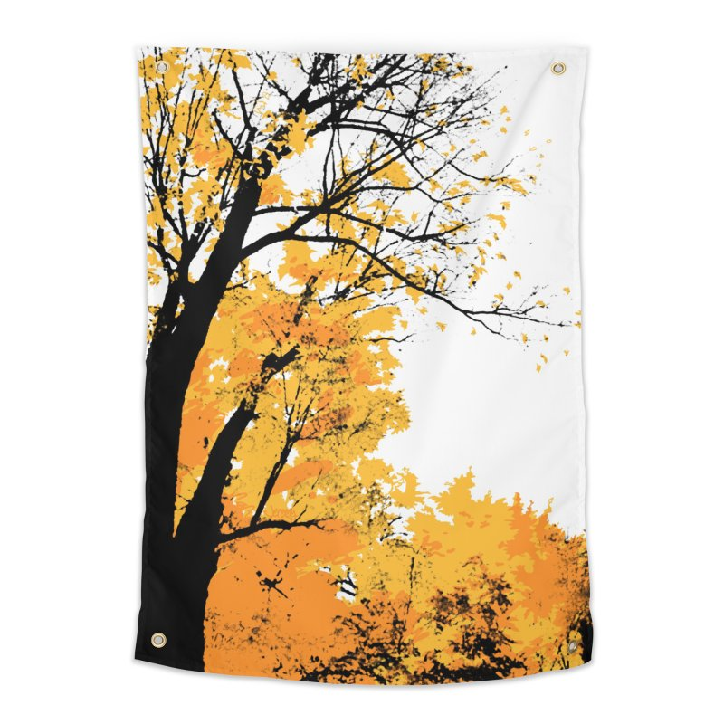 Michigan Fall Home Tapestry by Jeremy Wheeler