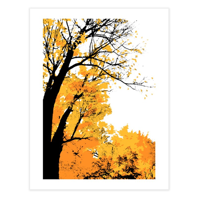 Michigan Fall Home Fine Art Print by Jeremy Wheeler
