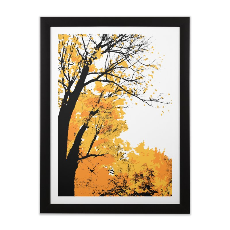 Michigan Fall Home Framed Fine Art Print by Jeremy Wheeler