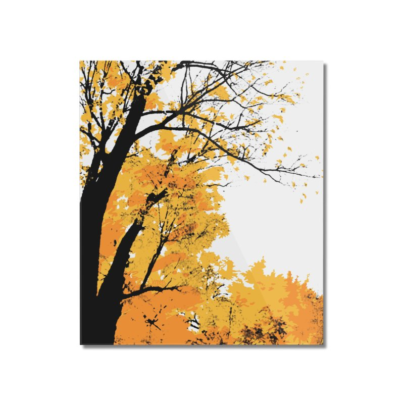 Michigan Fall Home Mounted Acrylic Print by Jeremy Wheeler