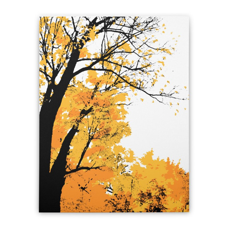 Michigan Fall Home Stretched Canvas by Jeremy Wheeler