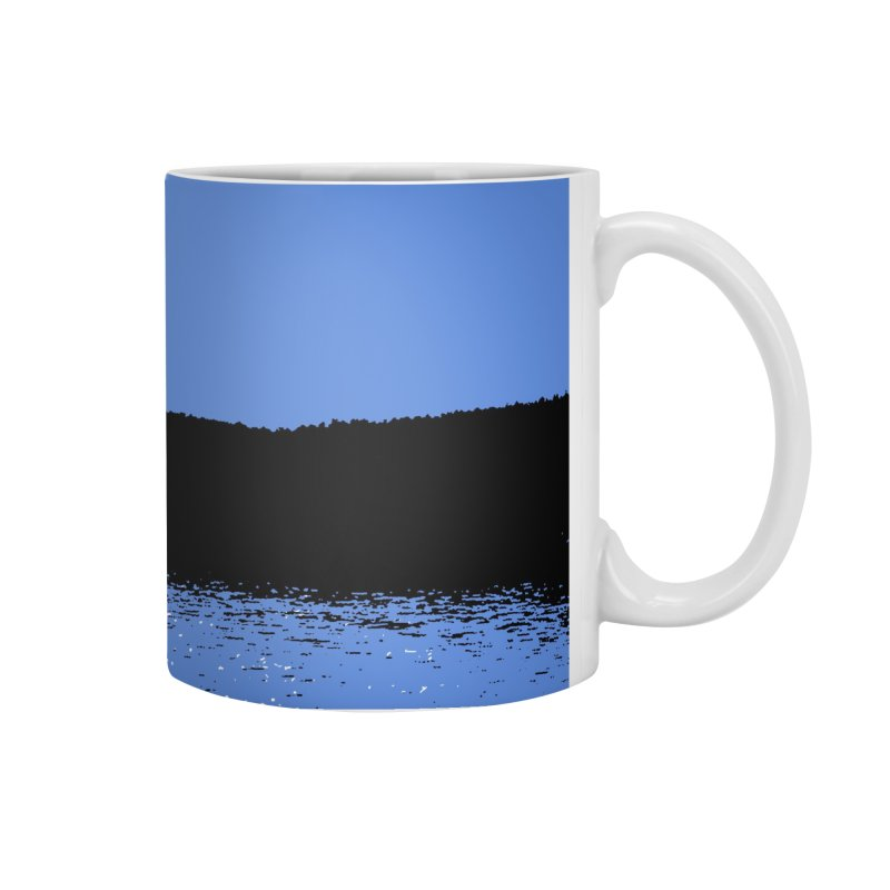 New Hampshire Heron in the Moonlight Accessories Mug by Jeremy Wheeler