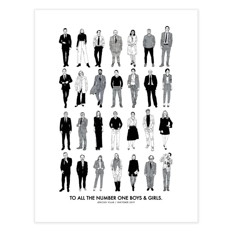 To All The Number One Boys & Girls Home Fine Art Print by Jericho Vilar / IRUINCLASSICS